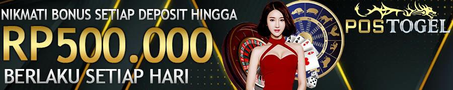 Bonus casino online terbesar